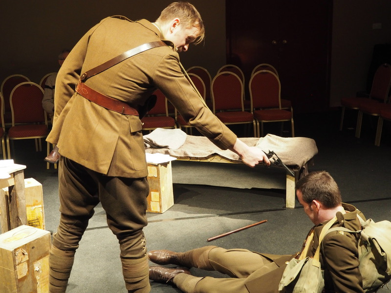 captain dennis stanhope in journeys end Tough-as-nails commanding officer, captain dennis stanhope, who was the public math, examining journey's end as a fundamentally commercial story suggests that.